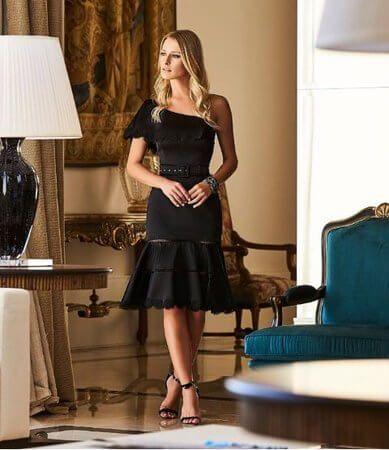 imagem 18 1 - Vestidos de UM OMBRO SÓ curtos e longos modelos super interessantes