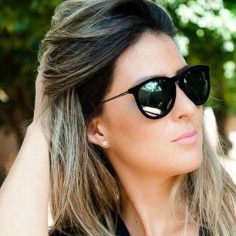 óculos de sol espelhado ray-ban
