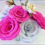 como fazer flores de papel crepom 150x150 - Como fazer Flores de papel crepom para lembrancinhas