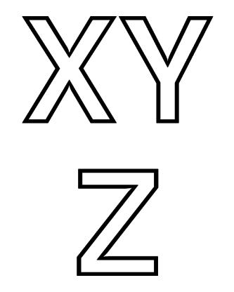 melhores letras alfabeto para imprimir grande 333x416 - Letras alfabeto para imprimir grande para aprendizado infantil