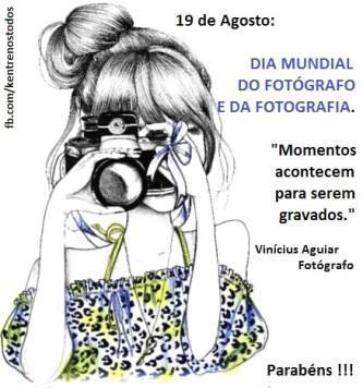 mensagens para o dia do fotógrafo para facebook