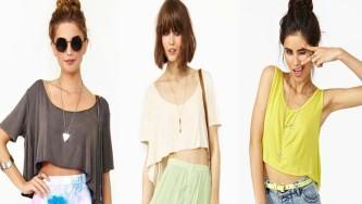 modelos de blusinha cropped soltinha