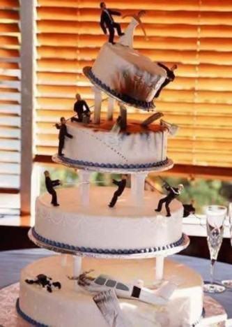 mornos bolo de casamento engraçado
