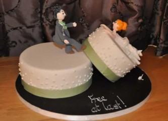 tipos de bolo de casamento engraçado