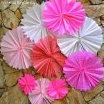tipos de flores de papel crepom 150x150 - Como fazer Flores de papel crepom para lembrancinhas