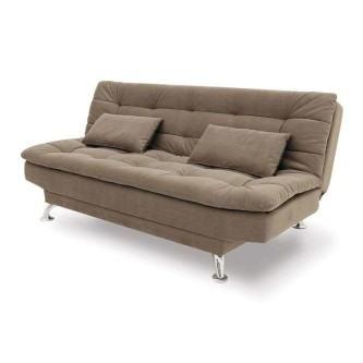 belos sofá cama de suede