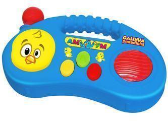 brinquedos musicais para bebê da galinha pintadinha
