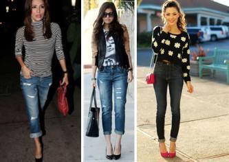 como usar calça jeans para baixinhas