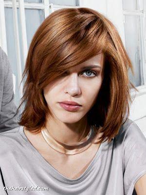 cortes de cabelos ruivos chanel