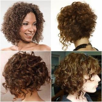 fotos de cabelos crespos chanel