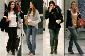 fotos de calça jeans para baixinhas