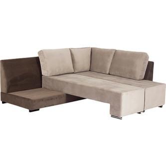 lindos sofá cama de suede