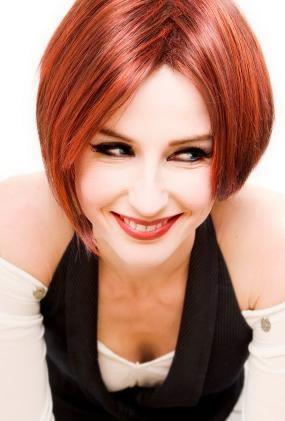 penteados de cabelos ruivos chanel
