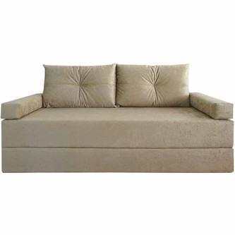 sofá cama de suede