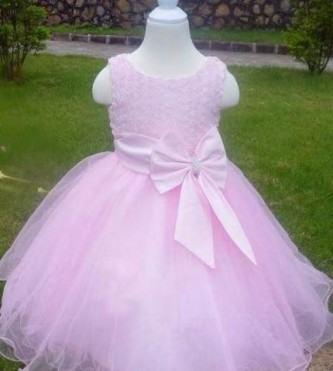 vestidos para aniversário de bebe com tule