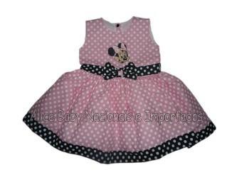 vestidos para aniversário de bebe da minnie