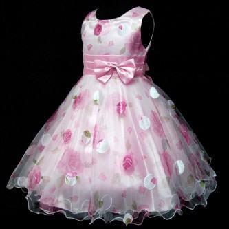 vestidos para aniversario infantil com tule