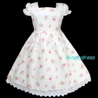 vestidos para aniversario infantil estampado