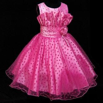 vestidos para aniversario infantil rosa