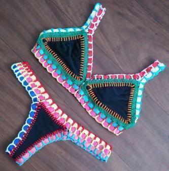 biquínis artesanais