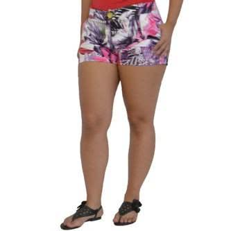 shorts estampados florais