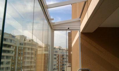 como vedar telhado de vidro apartamento
