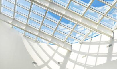 como vedar telhado de vidro de jardim de inverno