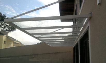 como vedar telhado de vidro dica