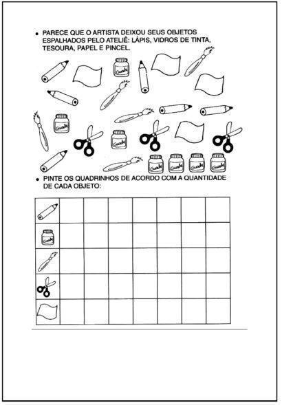 atividades de matemática 2 ano com tabela