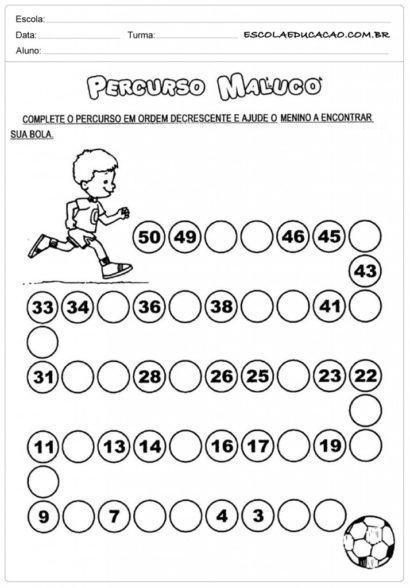 atividades de matemática 2 ano percurso maluco