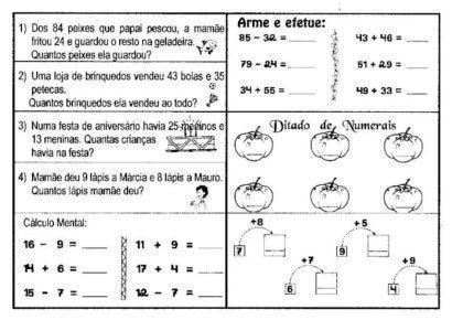 atividades de matemática 2 ano resolução de problemas
