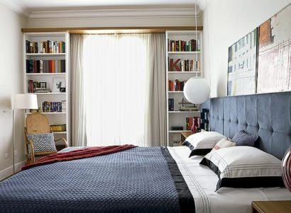 cortinas decorativas para quarto branca discreta 410x301 - Cortinas decorativas para quarto inspire-se nas opções