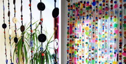 cortinas decorativas para quarto com botões