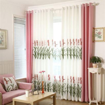 cortinas decorativas para quarto delicadas