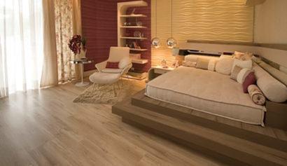 pisos laminados de madeira modernos