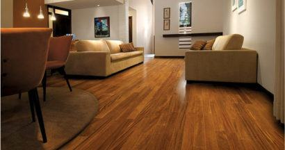 pisos laminados de madeira para sala