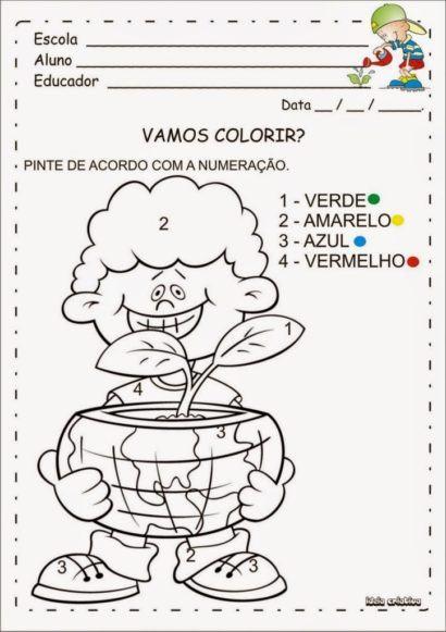 atividades de arte para o 5 ano colorindo