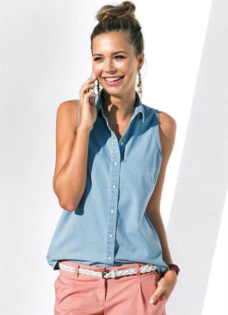 blusas femininas sem manga 10 470x650 - Blusas femininas sem MANGA moda verão