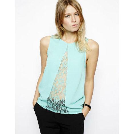 blusas femininas sem manga 3 470x470 - Blusas femininas sem MANGA moda verão