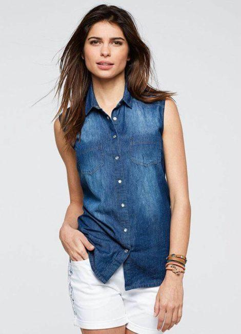 blusas femininas sem manga 4 470x650 - Blusas femininas sem MANGA moda verão