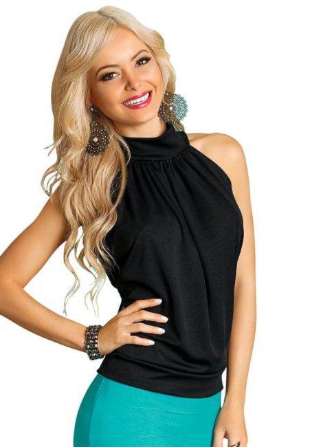 blusas femininas sem manga 5 470x650 - Blusas femininas sem MANGA moda verão