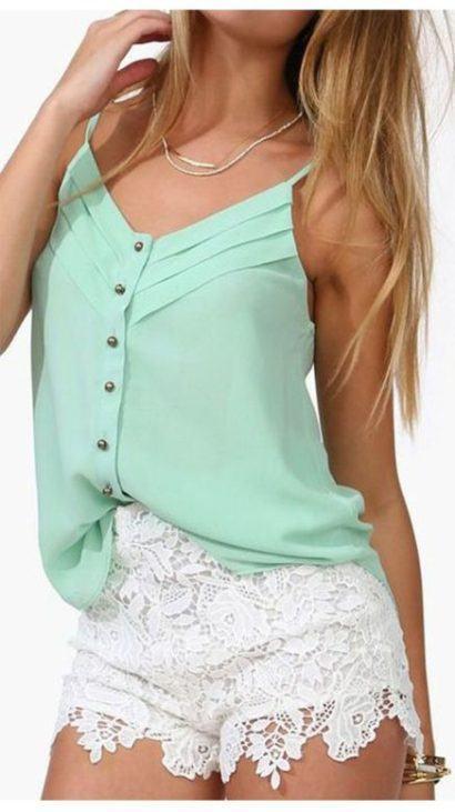 blusas femininas sem manga com bot%C3%B5es 410x731 - Blusas femininas sem MANGA moda verão