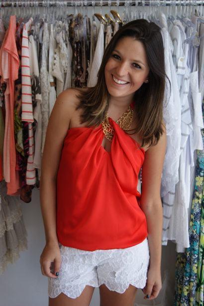blusas femininas sem manga com corrente 410x613 - Blusas femininas sem MANGA moda verão