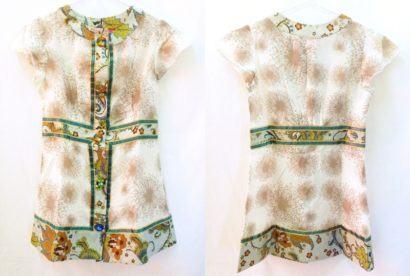 blusinhas femininas de seda modelo tunica 410x276 - Blusinhas femininas de seda looks pra usar com saia e calça