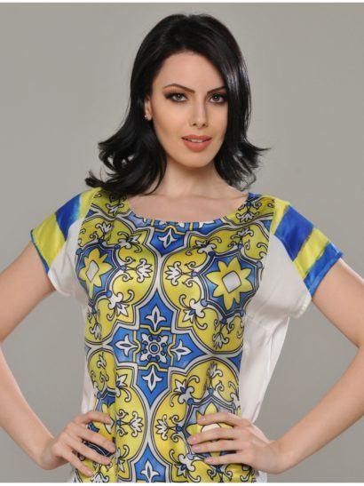 blusinhas femininas de seda para o verão