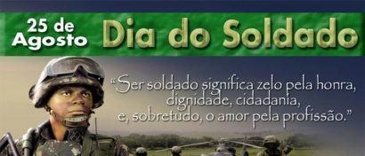 dia do soldado 25 de agosto 410x176 - Mensagens do Dia do Soldado em imagens para compartilhar