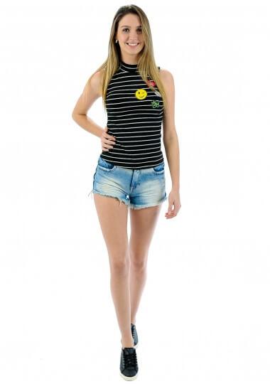 imagem 14 - Blusas femininas sem MANGA moda verão