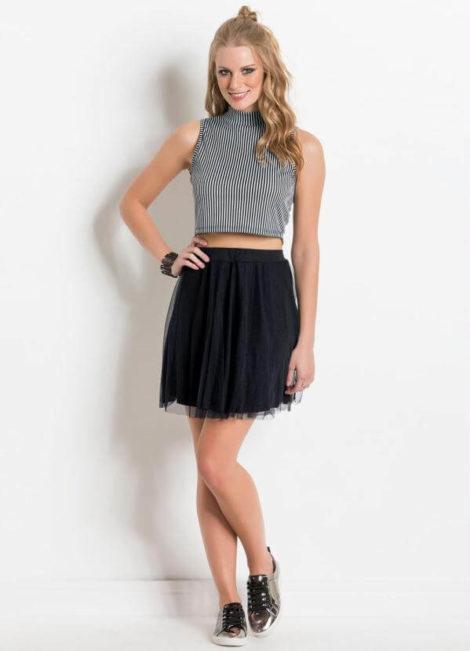imagem 23 470x651 - Blusas femininas sem MANGA moda verão