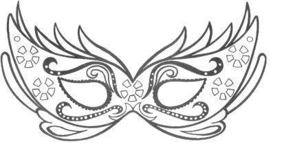 m%C3%A1scaras de carnaval para imprimir 410x210 - Máscaras de carnaval para imprimir e colorir para crianças