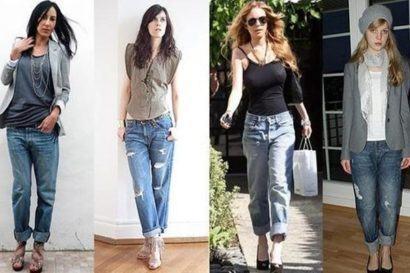 maxi cal%C3%A7as femininas modelo boyfriend 410x273 - Lindas Maxi calças femininas pra você ficar na moda